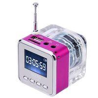 New TT-029 Mini Speaker Digital Music FM Radio MP3/4 Player USB Disk Micro SD/TF