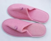 Pink air slippers disposable slippers at home slippers terry cloth slippers 2.5