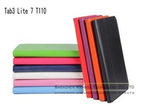 Luxury Stand Folio Leather Case Magnetic Smart Cover Stand for Samsung Galaxy Tab 3 Lite 7 T110
