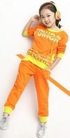 2014 girls clothing sets casual sport letter sets children clothing sets C09