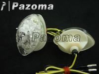 Pazoma  Motorcycle Flush Mount LED Turn Signals light For Honda cbr600 1000 cbr600f cb1000r hornet