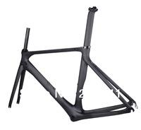 2014 New Road Bicycle Frameset  UD Matt BB86 50.5cm Bike Carbon Frame Fork Seatpost No Headset