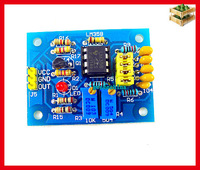 2pcs DC 5V-12V pulse frequency adjustable NE555 Module square wave signal generator for the experimental  development use