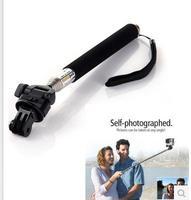 Gopro rod hero3 3 camera mobile phone rack hand-held stick gopro brandise adapter