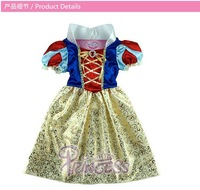 2014 Children Kids Cosplay Dresses Snow white Princess costume Performence Clothes HOT Sale costumes cosplay Free Shipping