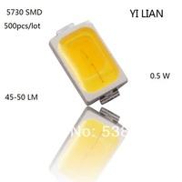 Free shipping smd 5630 led 5730 smd leds 45-50 lm lamp light-emitting diode led diodes chip warm white for led strip par light