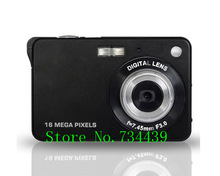 Latest 16Mp Max 3Mp CMOS Sensor  Digital Camera with 4x Digital Zoom and Rechareable Lithium Battery, Free Shipping(China (Mainland))