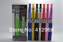 eGo-C Twist CE5 Atomizer eGo Blister Pack Kit 650mAh 900mAh 1100mAh eGo-Twist 3.2V to 4.8V Adjustable Battery E-Cigarette New