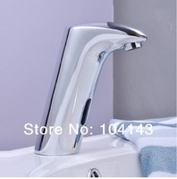 Hot Sale Cold Mixer Automatic Hand Touch Free Faucet Bathroom Basin Sink Tap  LJ89007/2