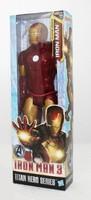 Free Shipping Iron Man Movie Spiderman 30CM PVC Iron Man Action Figures Action Toy Figures Retail Box
