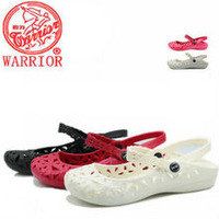 Soft WARRIOR women's sandals mother shoes nurse shoes flat sandals waterproof 6627