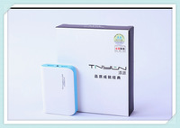 Blue color  7800mah power bank 18650 portable charger powerbank battery bank external battery chargers For samsung