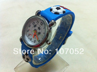 Free Shipping! Hot Sell Classic Unique Soccer 3D children watch Cartoon watches Gift watch