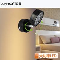High quality led bedside lamp wall lamp 5w reading lamp eye study lamp wall lights classic black 5 1 tile