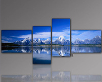 MODERN Canvas Art Oil Painting wall decorate - Mountain