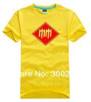 wholesale 2014 brand O-neck casual short-sleeve cotton T-shirt men's women's Rock band clothing - Marilyn Manson 202