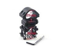 Wholesale Hunting Adjustable Tactical Gun QD Light Barrel Mount Bracket 25mm Ring for Laser Scope Rail Outdoor Airsoft Hot