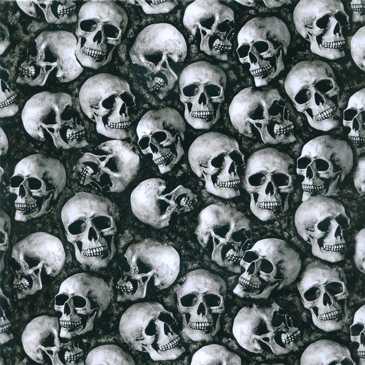 Water Transfer Printing Film Hydrographics Dipping Hydrographic- SMALL SKULLS 1432 Width 50cm(China (Mainland))