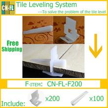 CN-FL-F200  Tile leveling system-solve flooring level-Tile spacer Lippage free- Kit- Free Shipping(China (Mainland))