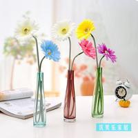 Fashion personalized glass vase home decoration indoor crafts decoration wedding gift