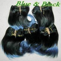 Gaga style bulk order 6pcs/lot two tone colors remy weave brazilian human hair extensions,CHEAP price