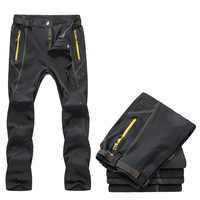 new 2014 tourism Trousers running hiking pants men's outdoor fun & sport Quick-drying trekking climbing pants l-4XL