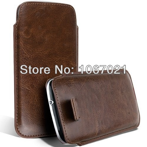 Leather PU phone Sleeve bags cases Pouch Case for star s5 butterfly Cell Phone Accessories 13 colors(China (Mainland))
