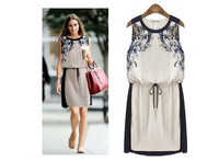 2014 New Summer Women's clothing High quality Fashion Casual dress  brand  High quality Casual dresses Woman