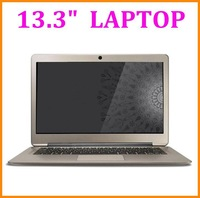 Super Slim 13.3inch Laptop computer Dual Core CPU WM8880  Android4.2 System Build-in Wifi HDMI USB R45 4GB Bluetooth External3G