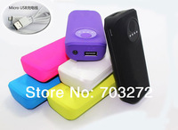 5set 5600 mAh External Backup Power Bank Battery Charger mini flashlight For iPhone iPod iPad iTouch Samsung HTC PSP MP3 MP4