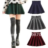 New 2014 Fashion Skirts Womens, Ruffles High Waist Skirt, Bandage Mini Skirt, Ladies Short Dresses, Falbala Skirts 7 Colors.
