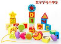 Toy DX23 Alphanumeric Strings Beaded Educational Toys Early Childhood Nursery