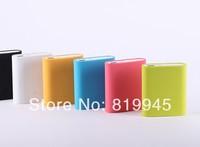 Free shipping Original Xiaomi Power Bank 10400mAh with Original silicon case