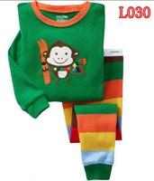 Boys Long Sleeve Pajamas toddler Kids Sleepwear suit Superman  mickey design  2 - 7 yrs