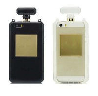 1pc Fashion Perfume Bottle TPU Silicone Soft Case Cover For Apple iPhone 4 4S