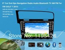 9″ Car Dvd Gps Navigation Radio Audio Bluetooth TV AM FM Vehicle Navigation For  VW GOLF 7 2013-  VW Golf VII VW Golf Mk7