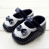 Bowknot Baby Girls Shoes Todder pre-walker shoes infant baby girl soft sole shoes Little Spring Free Dropshipping