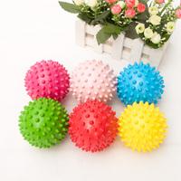 Free shipping(4pcs/lot) massage ball toy ball burry baby hand catch balls elastic  bump ball Drop shipping 0-3 years