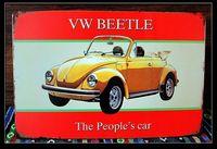 VW BEETLE car painting Pub decorative painting car series home declas/mural/poster/decoration G-85
