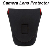 Neoprene DSLR Camera Lens Soft Protector Pouch Bag Case S