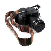 Universal Digital Camera Shoulder Strap Retro Neck Belt Stripes For Sony Canon Nikon Pentax