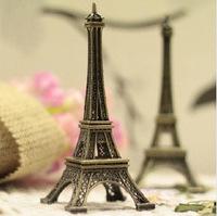 HOT! 22cm Eiffel Tower Broze Metal Statue Home & Shop Decoration Gift Photo Props M1214