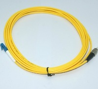 Fc-lc single mode fiber optic jumper pigtail 10 meters length customize