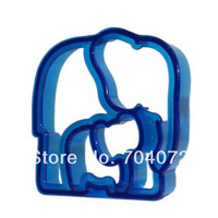 Wholesale-free shipping cute elephant 3D sushi mold Sandwich / Cheese / Ham Cutter / Rice Mold Mould And Stamps