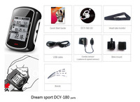 Fast delivery for DCY-180P cycling computer!combo sensor/ODO meter/Speed & Distance count/Sports information download vis USB