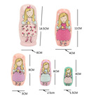 russian princess dolls 2014 new dolls for the girls,original matryoshka dolls,5pieces/1lot  wooden dolls,home decro(China (Mainland))