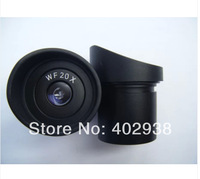 WF20X/10mm Stereo Microscope Wide Angle Optical Eyepiece Lens with Mounting Size 30mm/30.5mm
