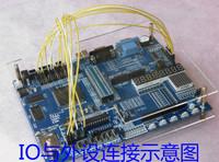 Free shipping Xinlinx FPGA Spartan-3E XC3S500E xilinx fpga development board xilinx fpga board  xilnx board xilinx kit