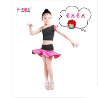 10sets Child Latin dance performance wear female child Latin skirts child leotard Latin female child  kids Latin dance clothing
