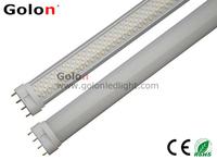 12W 2G11 LED PL lamp, 85-277V  9W LED PLL Ra80  100pcs/lot   3 years warranty FEDEX/DHL free shipping 2G11 LED lamp